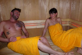 Wellness - Bio sauna with Infraredlight